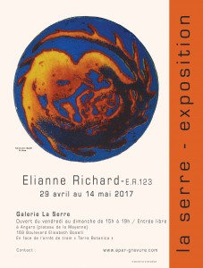 Eliane Richard affiche 1L